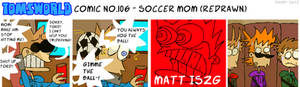 TWComic No. 106 - Soccer Mom (REDRAWN)