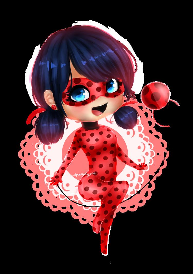 Ladybug Chibi by kirakoii