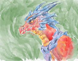 Smaulock Watercolor by SaitouuRyuuji