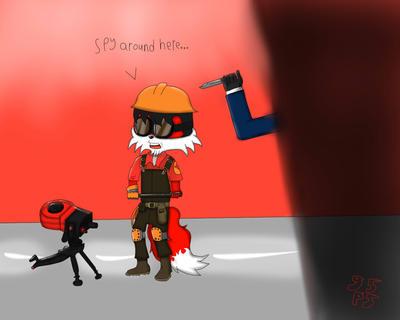 Spy around here by gpainbringer55