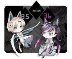 ADOPT 35-36: The Kitties (OPEN) by fenaru