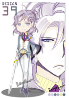 ADOPT 39: White Chevalier (OPEN) by fenaru