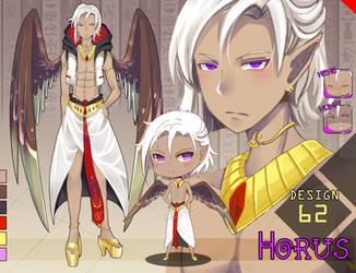 Adopt 62: Horus (CLOSED) by fenaru