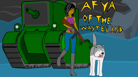 Afya of the Wasteland - Title Card 1