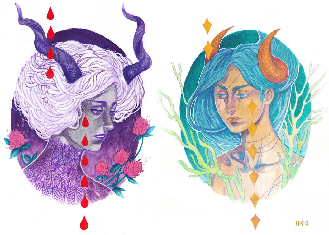 Demons by kajoi