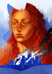 Sansa by kajoi