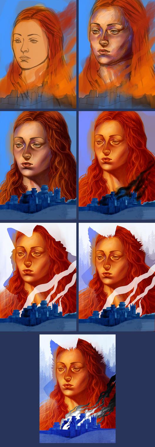 Sansa - Steps by kajoi