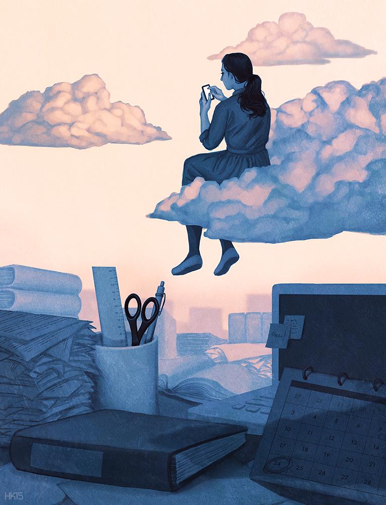 Procrastination by kajoi