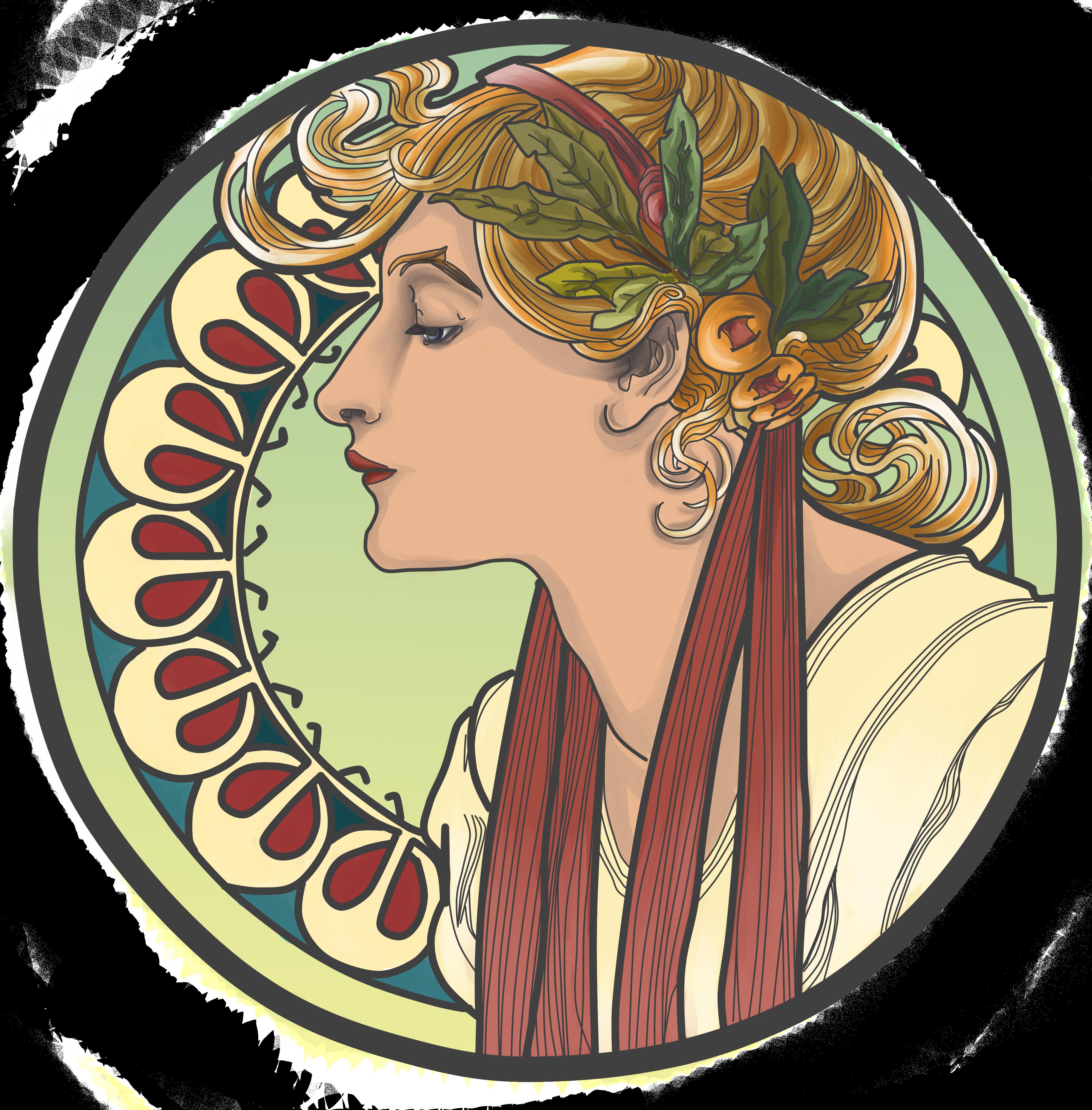 Art Nouveau - Year 11 Visual Arts