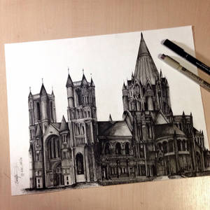 St. John Cathedral of the Divine - Sketch