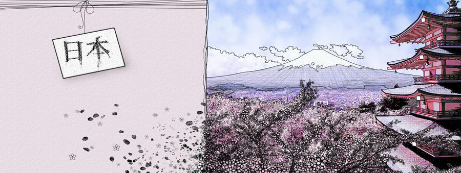 Japan in bloom by frikibunny8