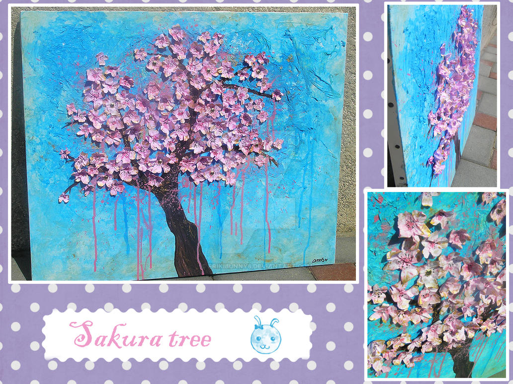Sakura tree by frikibunny8