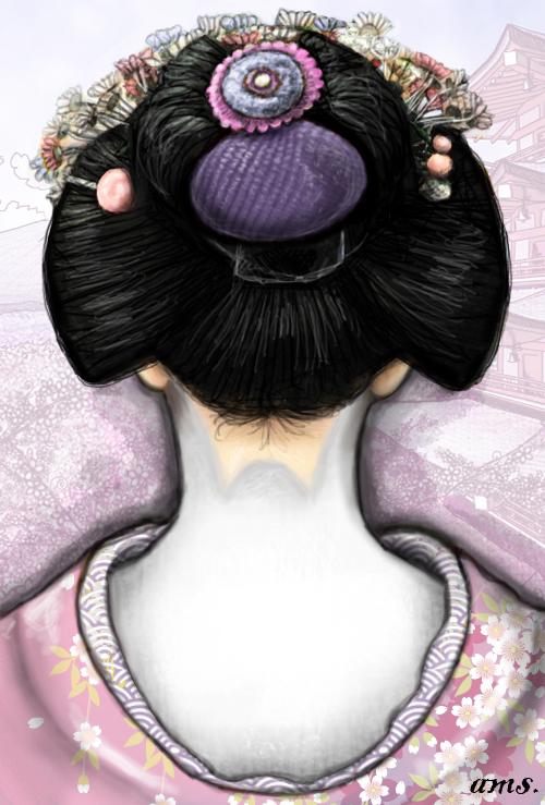 xX~Geisha back~Xx by frikibunny8