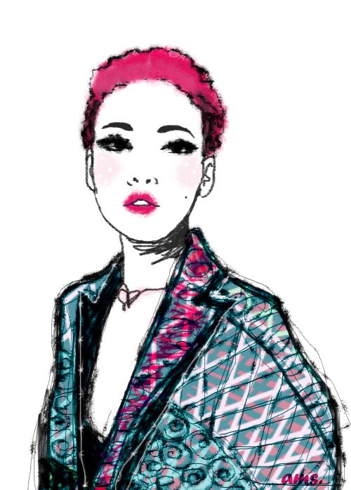 Hot Pink by frikibunny8
