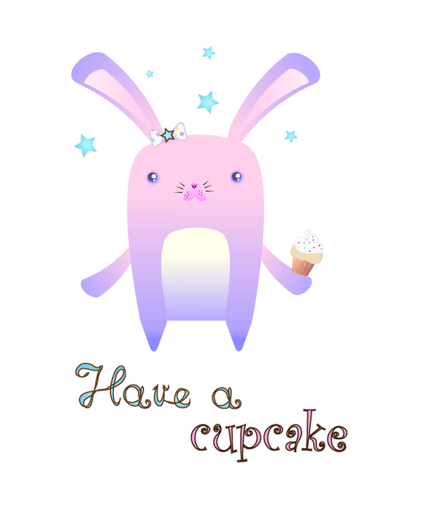 Have a cupcake by frikibunny8