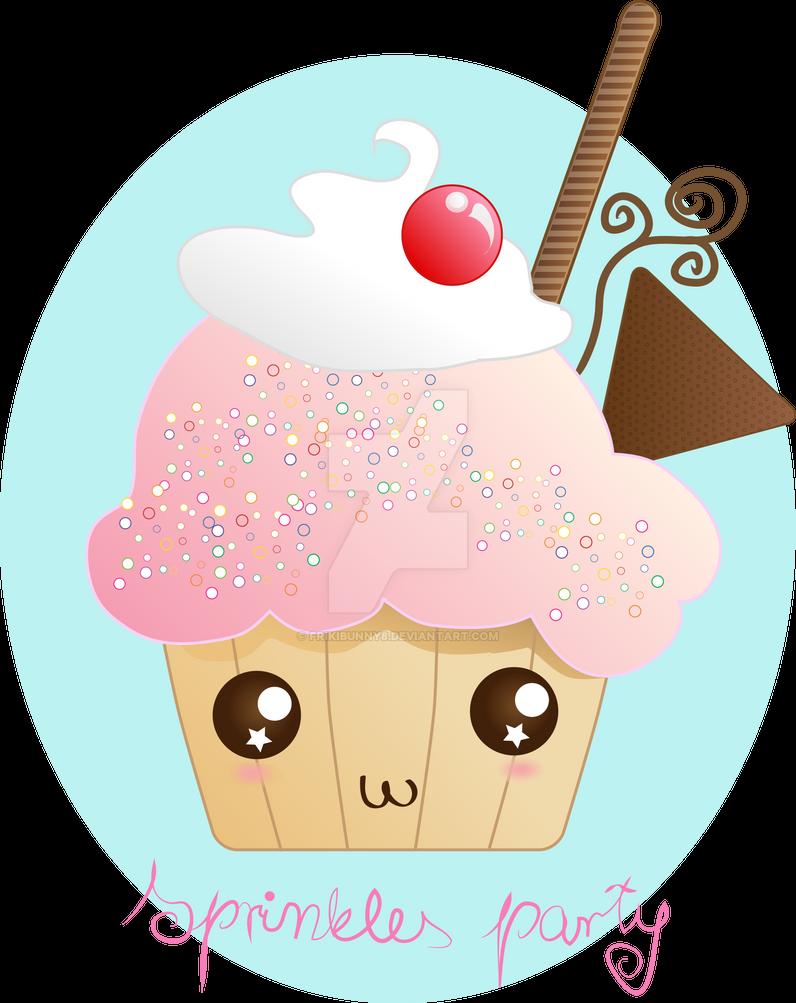 Sprinkles party by frikibunny8