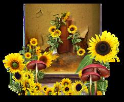 Sunflower Backg