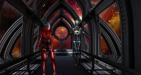 Art of Science Fiction Scene