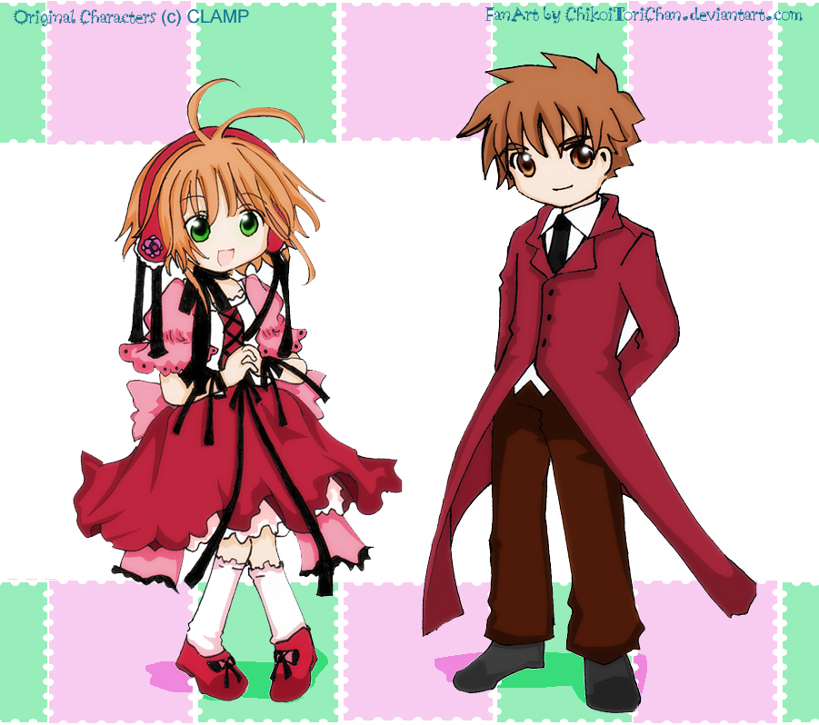 Art Trade: Sakura And Syaoran By Toriichi On DeviantArt