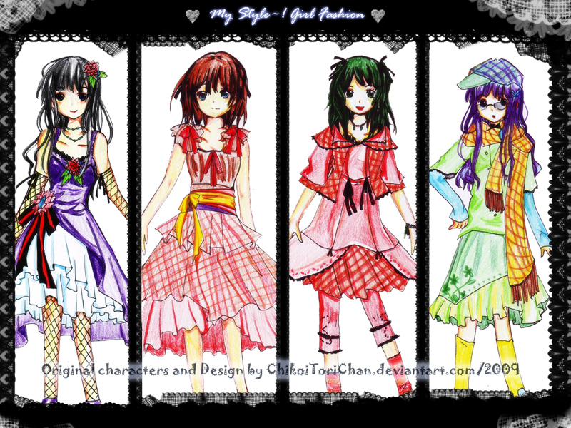 Design Clothes: My STyle by ChikoiToriChan