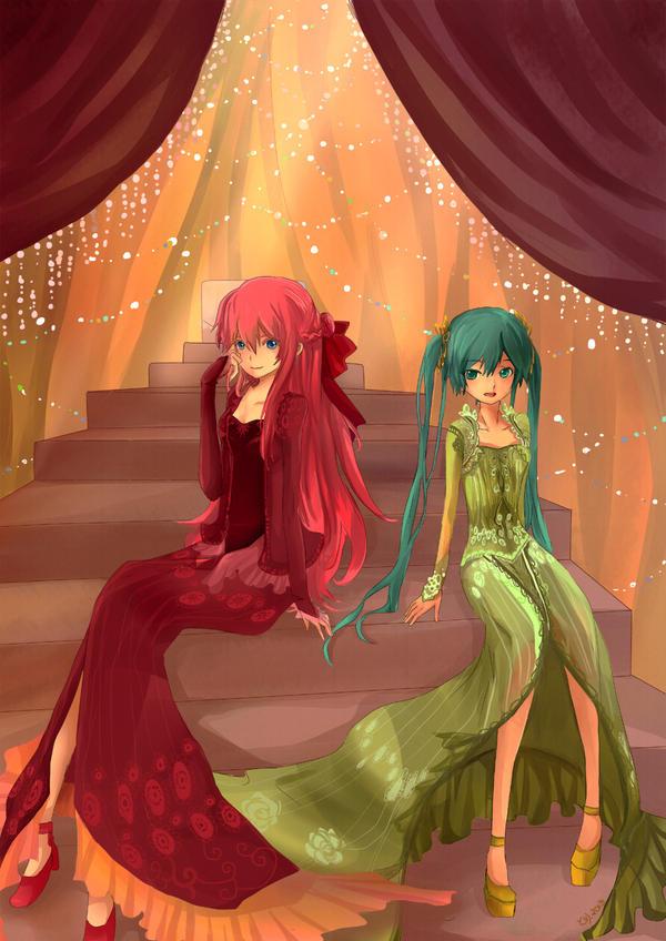 Kebaya Luka and Miku by ChikoiToriChan