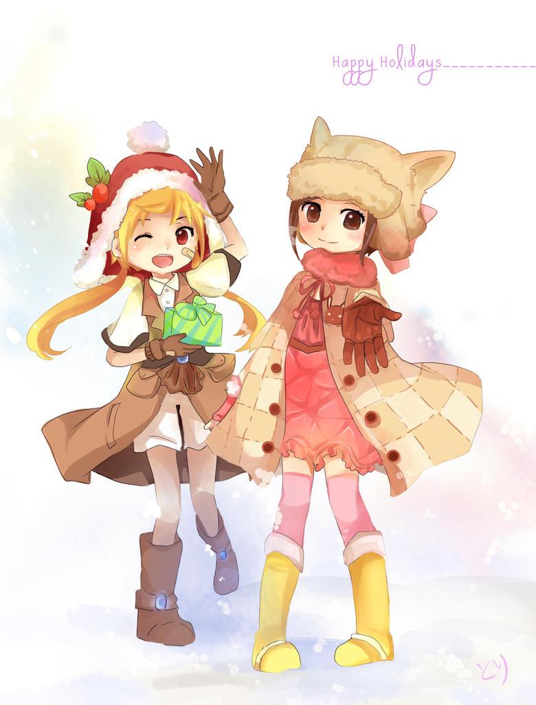 Happy Holidays by ChikoiToriChan