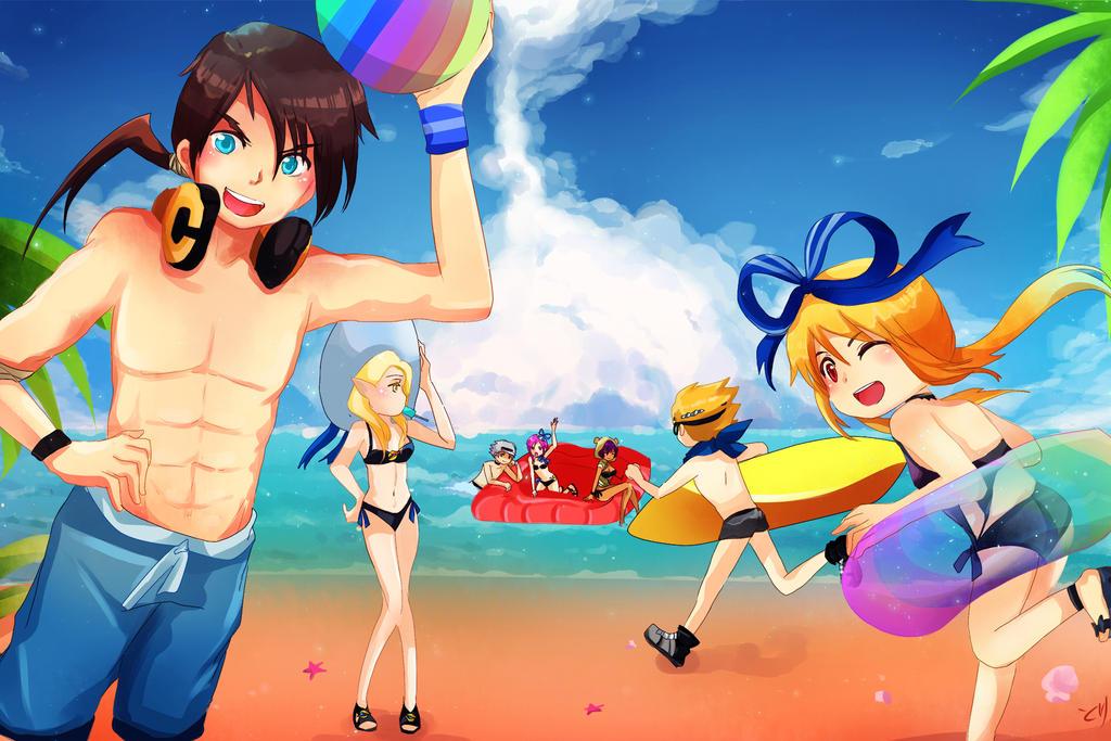 DN: Summer DN ina by ChikoiToriChan