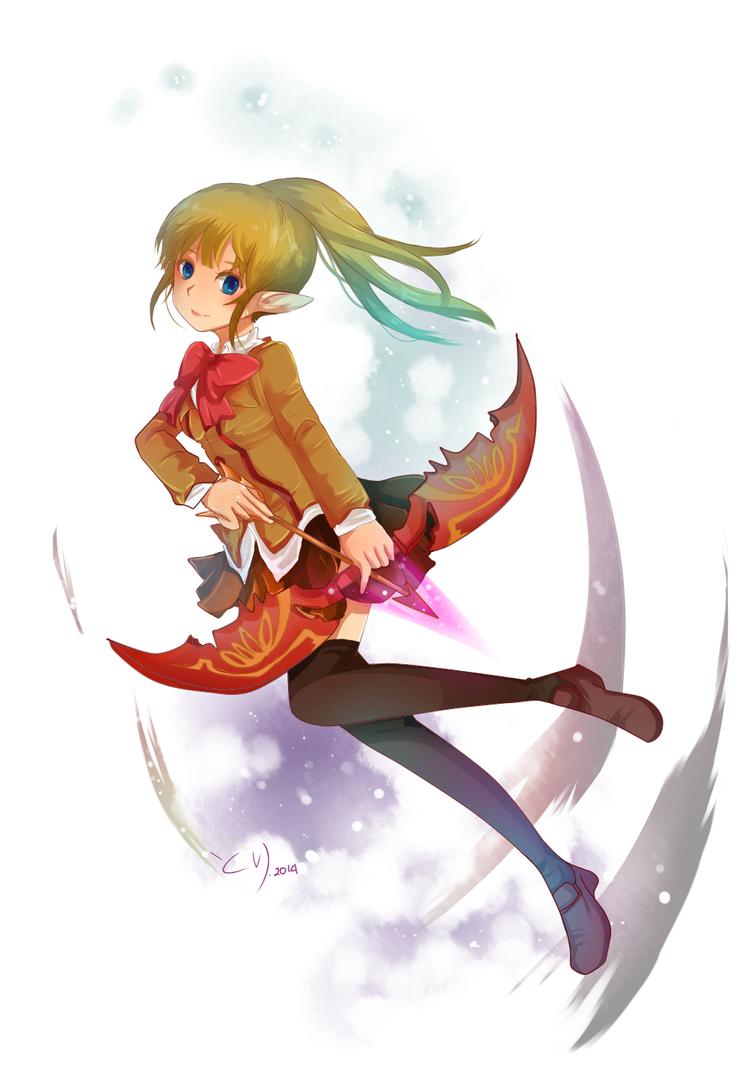 DN: Archer Jazdia by ChikoiToriChan