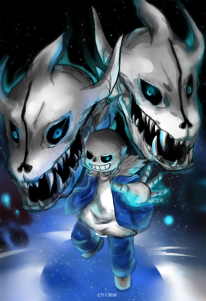 easy how to make a gaster blaster fight
