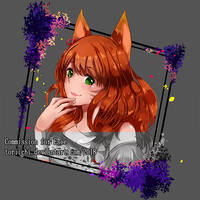 Commission headshot for Esie by Toriichi