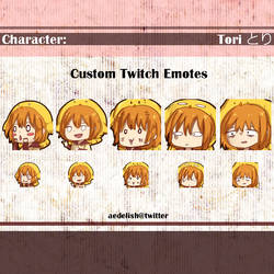 twitch emotes 02 by Toriichi