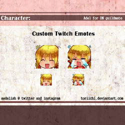 twitch emotes 03 by Toriichi