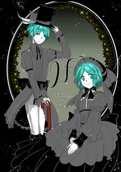 Houseki no Kuni sketchlog cover
