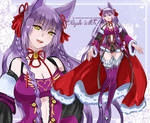 [Auction CLOSED] adopt10: Purple Witch
