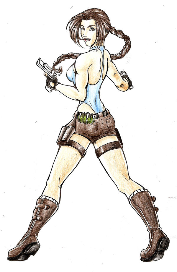 Tomb Raider - Color by marcos-prl