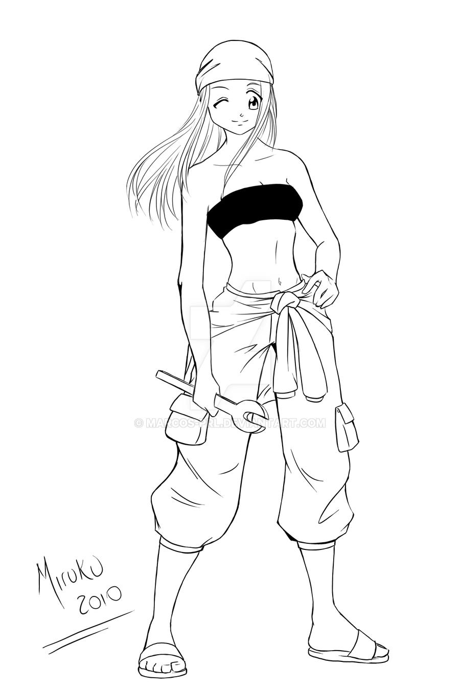 Winry Rockbell - FMA by marcos-prl