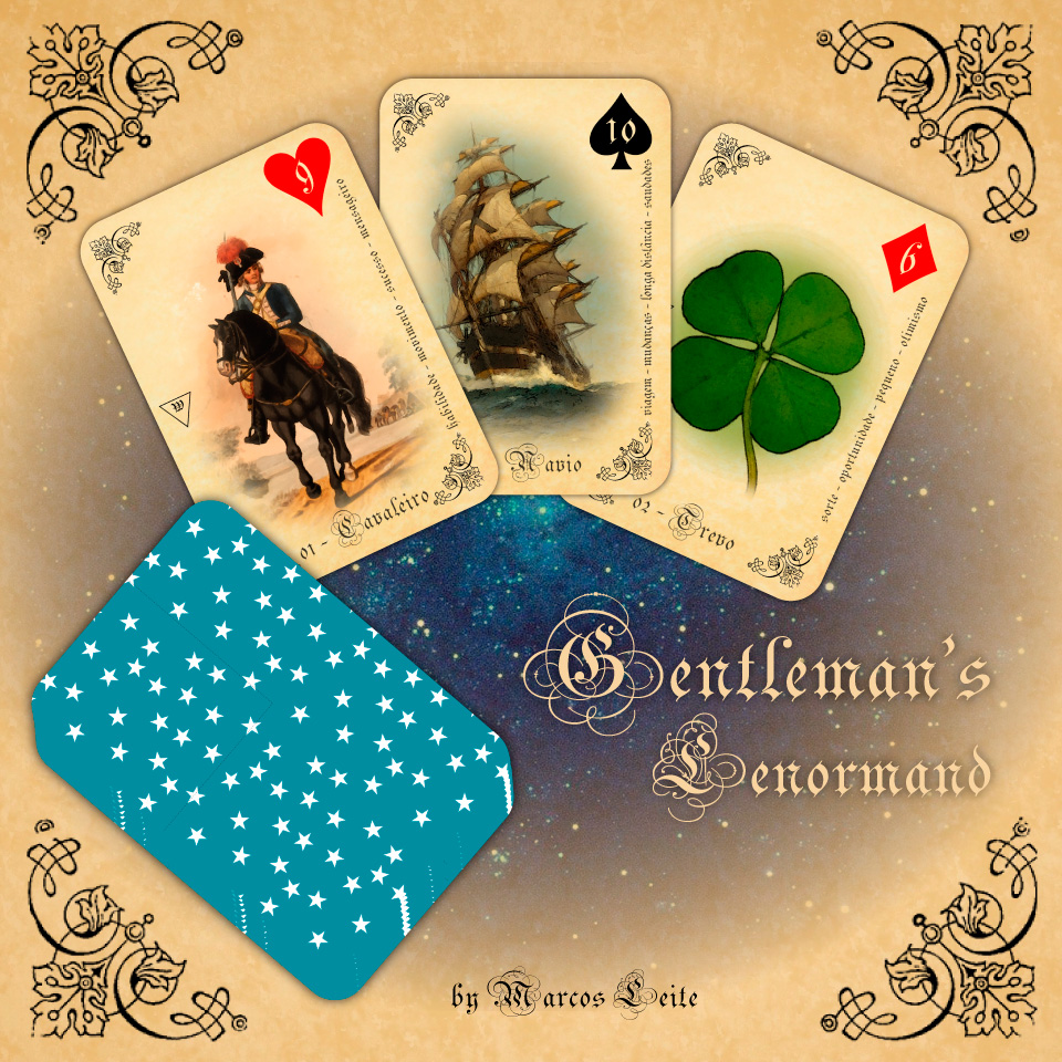 Gentleman`s Lenormand - Baralho Cigano by marcos-prl