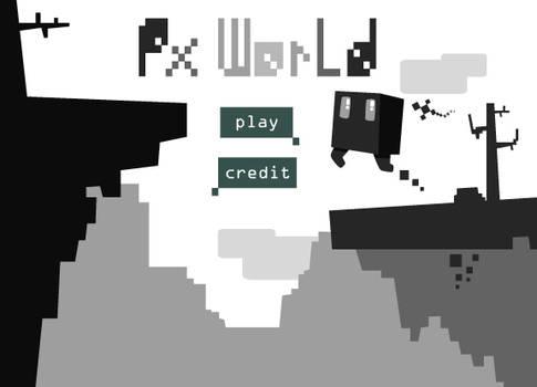 PX World Main Screen