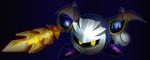 The Masked Swordsman, Meta Knight by ApoLuke72