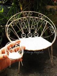 Mini Garden Chair by margemagtoto
