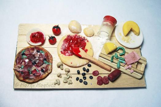 Pizza Preparation Board