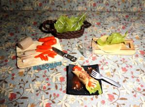 Fresh Spring Rolls (Lumpiang Sariwa) Prep Board