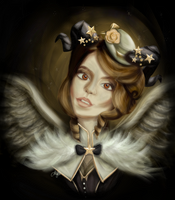 The winged fair lady