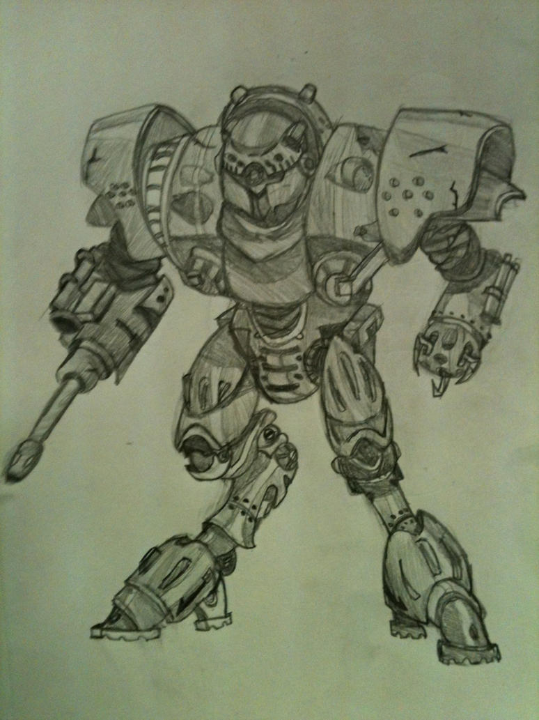 Mech Practice 1 by Swiftstone