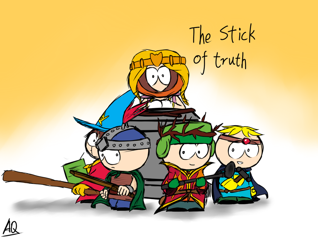 The Stick Of Truth By Aq1746950 On DeviantArt