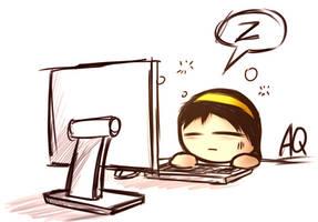 feel sleepy by aq1218
