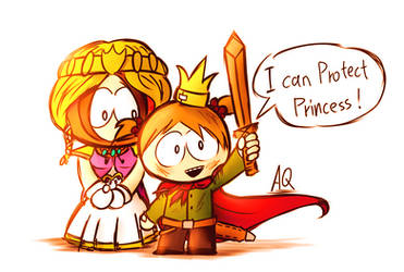 princess and prince by aq1218