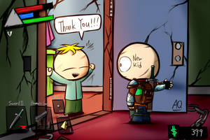 Sp Ds9 Save Butters by aq1218