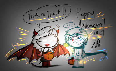 Happy Halloween 2018 by aq1218