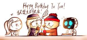 (GIft)Happy birthday by aq1218